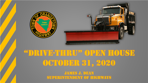 DRIVE-THRU OPEN HOUSE