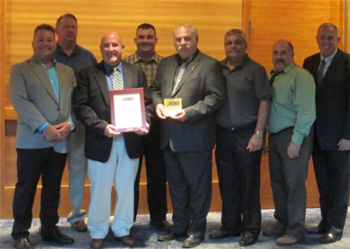 The New York Metro Chapter received the APWA PACE Award and was presented to the Chapter members at Congress