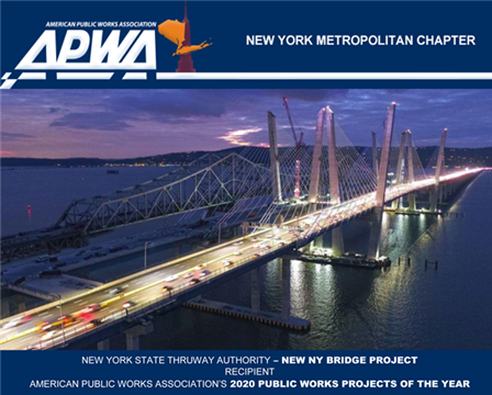 American Public Works Association's Public Works Projects of the Year for 2020