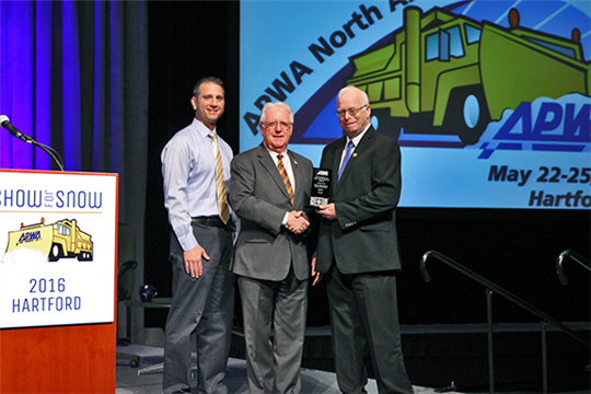 Orangetown's Highway Department Receives APWA 2016 Excellence in Snow and Ice Control Award